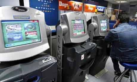 Fixed-odds gambling machines in a betting shop