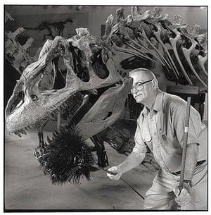 World's oddest jobs: Dinosaur duster