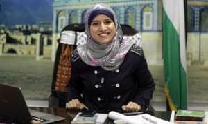 Hamas spokeswoman Isra al-Modallal