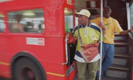 young black men bus