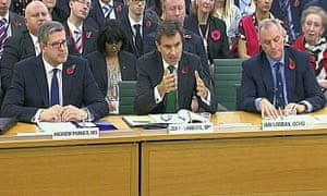 British spy chiefs appear before the ISC