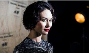 French actress and model Olga Kurylenko