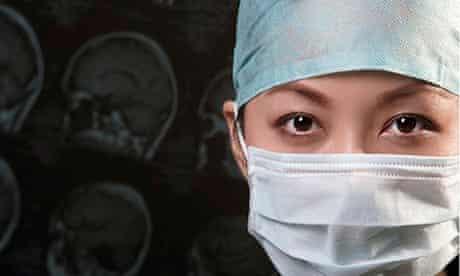Woman doctor surgeon