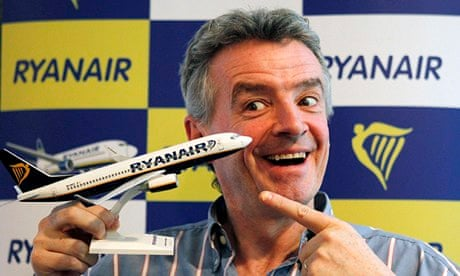 Michael O'Leary, Chief Executive Officer Ryanair
