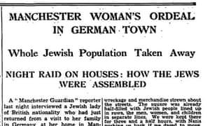 The Manchester Guardian, 12 November 1938.