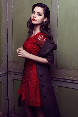 Jenna Coleman: Red dress