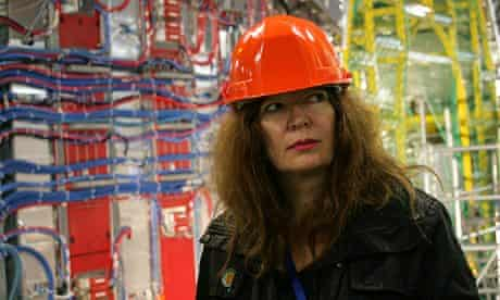 Suzanne Moore at Cern