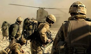 Royal Marine Commandos in Helmand province, Afghanistan