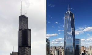 willis tower and one world trade center battle for skyscraper