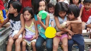Typhoon Aftermath: Feeding program in Tondo after Tropical Haiyan