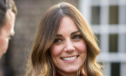The Duchess of Cambridge puts on a brave face