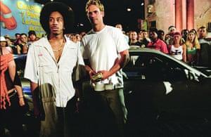 paul walker: Ludacris and  Paul Walker in 2 Fast 2 Furious, 2003