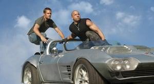 paul walker: Fast & Furious 5 - Paul Walker and Vin Diesel, 2011