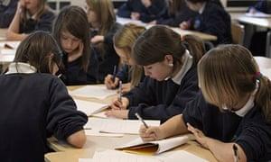 Pupils at school in Bristol