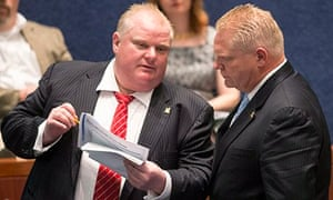 Rob Ford and Doug Ford