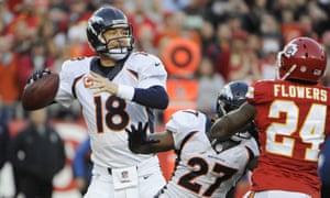 bd07f0b7 NFL Clockwatch week 13 - as it happened | Sport | The Guardian