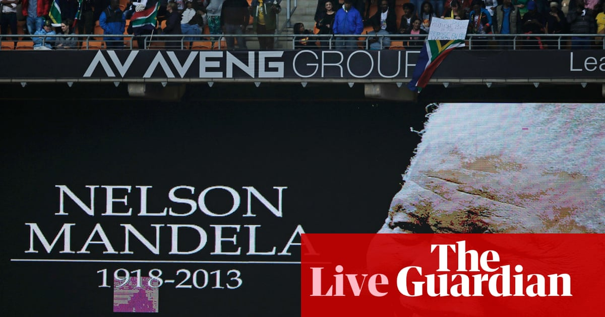Nelson Mandelas Memorial Service As It Happened World News The