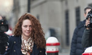 Former CEO of News International, Rebekah Brooks, arrives at the Old Bailey, London, for the continued phone-hacking trial involving former News of the World newspaper executives.