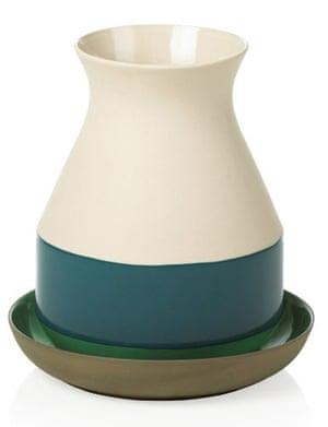 Homes - wishlist: cream and blue vase