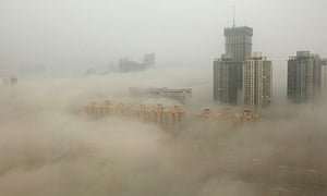 Smog in Lianyungang