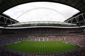 largest football stadiums: Wembley Stadium