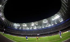 largest football stadiums: Bukit Jalil National Stadium in Kuala Lumpur, Malaysia