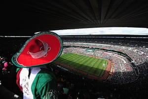 largest football stadiums: The Azteca Stadium Mexico City, Mexico
