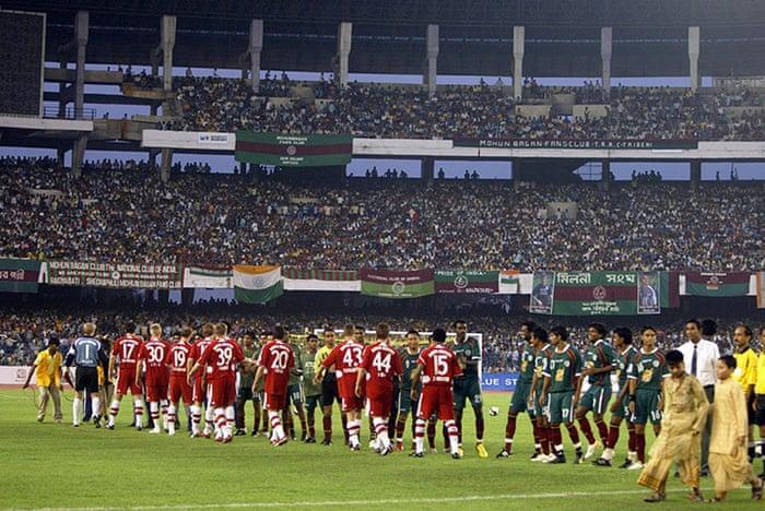 Football in Kolkata - Guim.co.uk