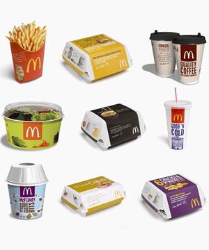mcdonalds packaging