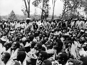 Kenya at 50: Strikers gather to listen their learders