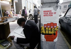 Kenya at 50: A view of Red Cross posters warning against Aids