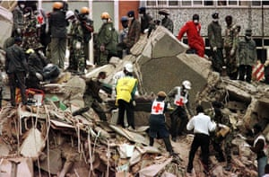 Kenya at 50: bombing near the US Embassy in Nairobi
