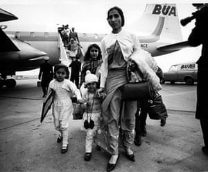Kenya at 50: Asians arrive having been forced to flee Kenya due to Africanisation policy