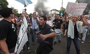 Police strike in La Plata