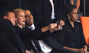 Obama, Cameron and Helle Thorning Schmidt
