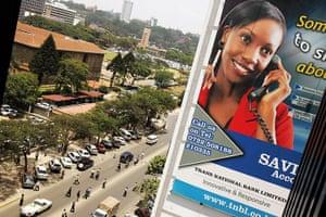 Kenya at 50: An advertisement for a bank