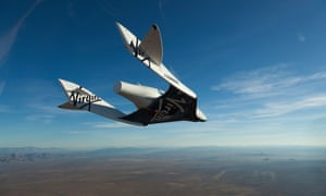 Virgin Galactic rocket ship