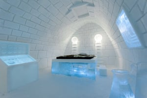 Icehotel, Sweden: It's Alive art suite, Icehotel, Sweden