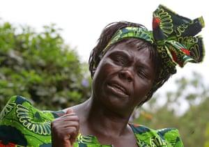 Kenya at 50: Kenyan Nobel peace laureate Wangari Maathai
