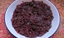 Signe Johansen's red cabbage