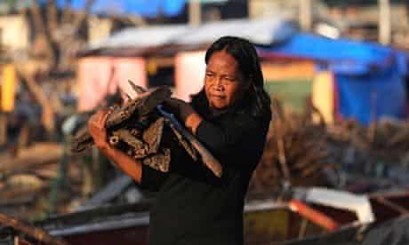 Climate change Haiyan