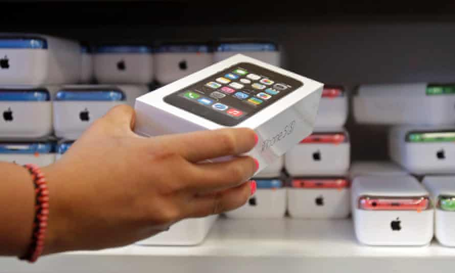 iPhone 5S: has sold strongly in China