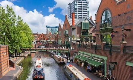 Narrowboats canal