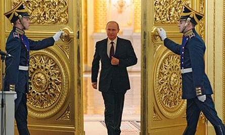 Vladimir Putin, Grand Kremlin Palace, 12/12/13