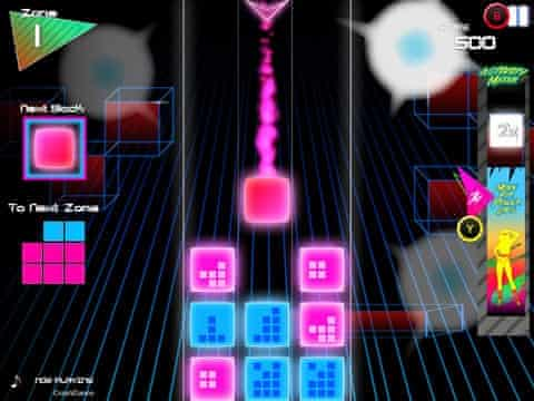 One of Goji Play's launch games, Beat Drop.