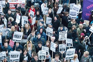 Cops off campus protest: Cops Off Campus student protest