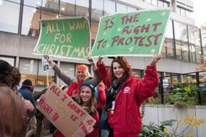 Cops off campus protest: University of Bristol Students Union protest cops off campus
