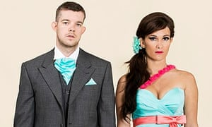 Him & Her stars Russell Tovey and Sarah Solemani.