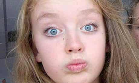Izzy Dix, 14, whose body was discovered by her mother at their home