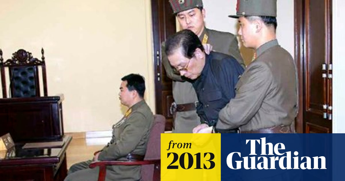 North Korea executes Kim Jong-un's uncle as 'traitor' | World news